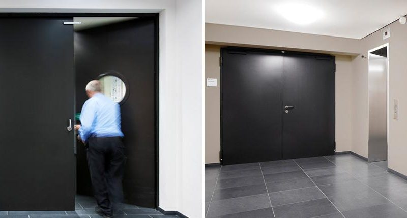 ¿Qué son las puertas antibalas?